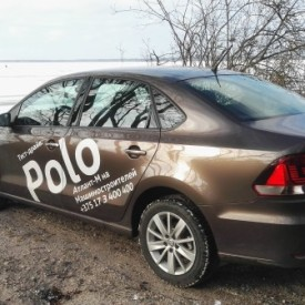 Проекты. Тест-драйв Volkwagen Polo Sedan